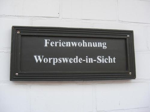 Ferienwohnung Worpswede-in-Sicht