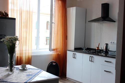 New apartment on Rustaveli Avenue, Tbilisi