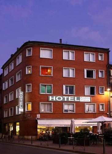 Hôtel Anatole France - toulouse - booking - hébergement