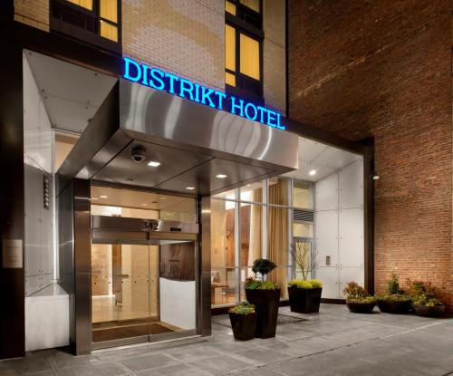 Distrikt Hotel New York City impression