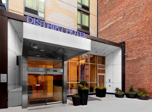 Distrikt Hotel New York City Photo