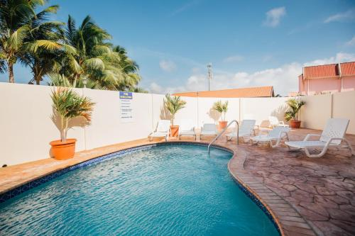 Aquazul Aruba Apartments, Пальм Бич