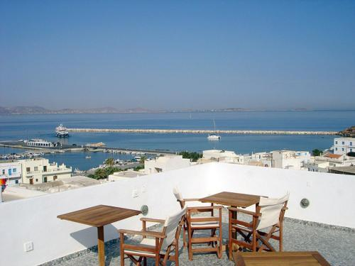 Panorama Hotel in naxos - 2 star hotel
