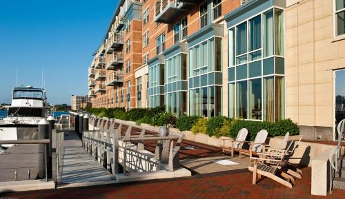 Battery Wharf Hotel, Boston Waterfront Photo