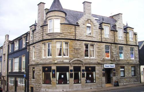 Royal Hotel in Fraserburgh from £45
