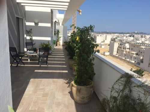 Penthouse Apartment in Tunis Ain Zaghouan Nord, Túnez