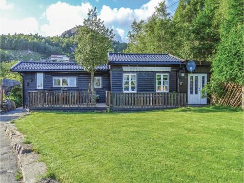 Two-Bedroom Holiday Home in Bjerkreim, Bjerkreim