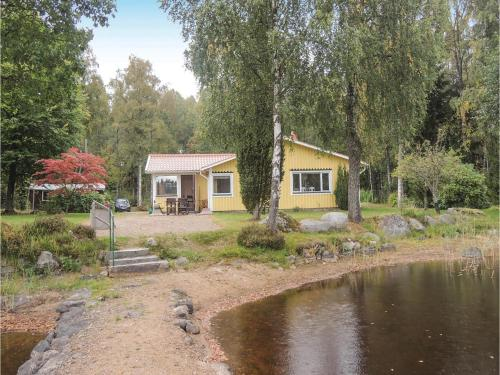 Three-Bedroom Holiday Home in Hallaryd, Hallaryd