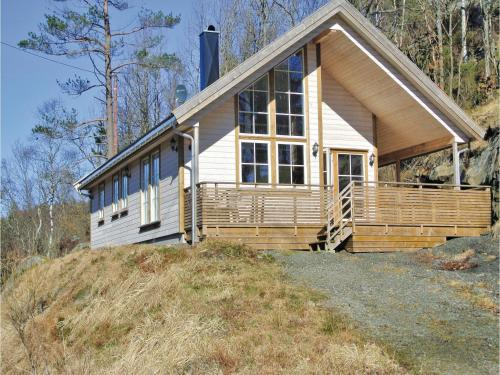 Three-Bedroom Holiday home Farsund with Lake View 06, Feda