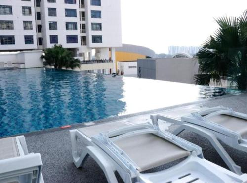 Pinnacle Tower 2 Bedrooms with nice city view, Johor Bahru