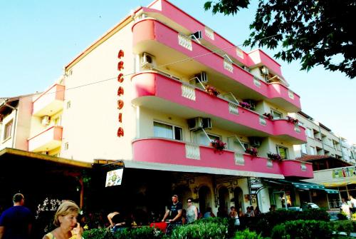 Family Hotel Arkadia, Приморско