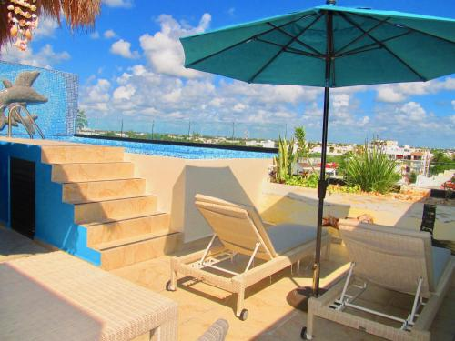 The City -Two bedrooms condo with private pool, Playa del Carmen