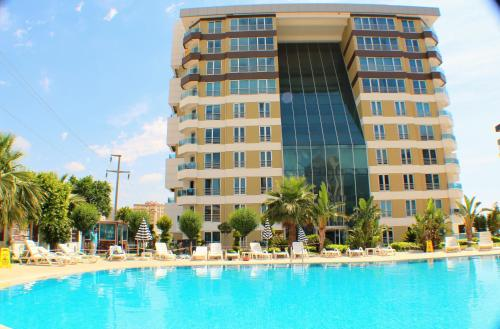Antalya Waterfall Apartments & SPA odalar