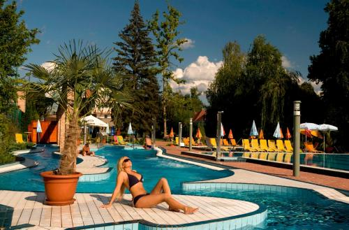 Photo Holiday Beach Budapest Wellness Hotel with Sauna Park