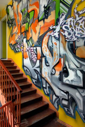 Graffiti Hostel Saint-Petersbourg