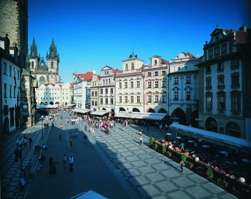 Grand Hotel Praha in Prague from €115