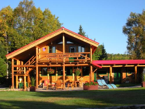 Au Chalet en Bois Rond Sainte Marie Photo