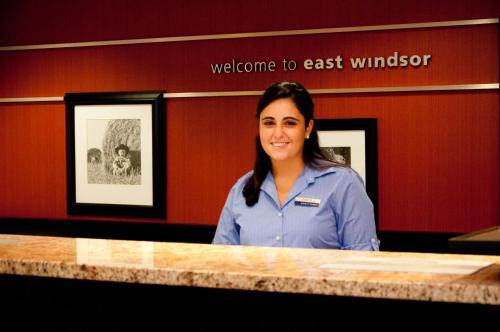 Hampton Inn East Windsor in East Windsor
