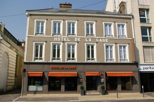 Hotel de la Gare Troyes Centre, green hotel in Troyes, France
