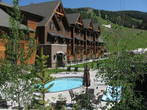 Big Sky Resort Village Center Photo