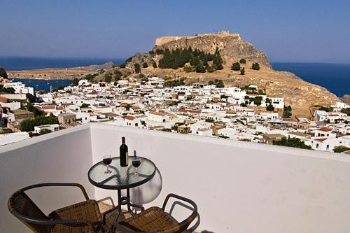 Lindos Panorama - Lindos Greece