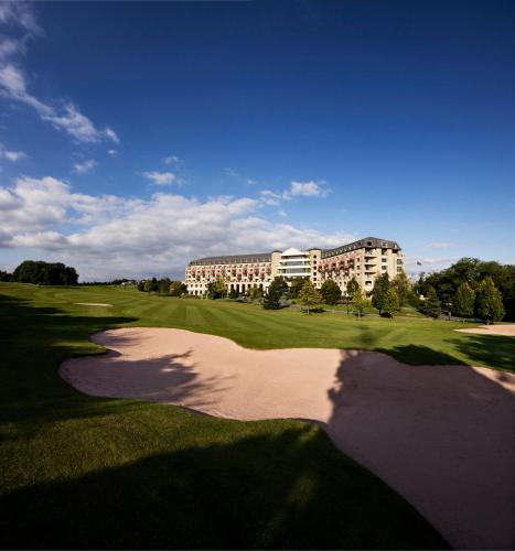 The Celtic Manor Resort, eco-hotel in Newport, Verenigd Koninkrijk
