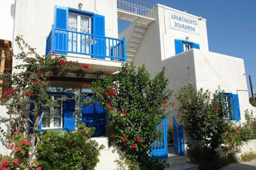 Diamando Apartments - Main road Greece