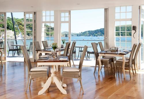 South Sands, green hotel in Salcombe, United Kingdom