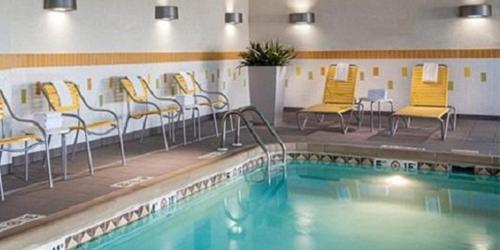 Fairfield Inn Suites By Marriott Des Moines Urbandale In Urbandale Ia Indoor Pool Non
