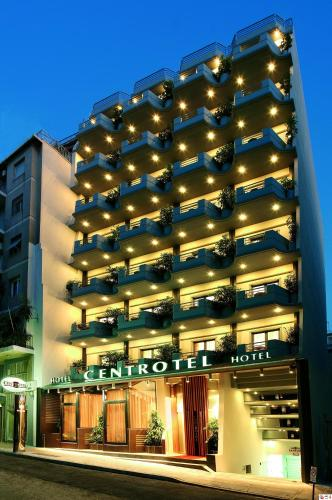 Centrotel Hotel in athens - 3 star hotel