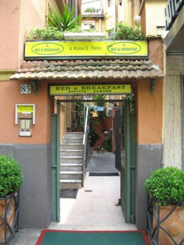 Bed & Breakfast A Roma San Pietro Best Bed