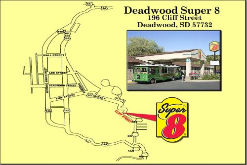 Deadwood Super 8 Photo