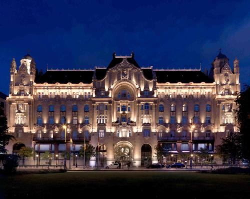 Four Seasons Hotel Gresham Palace Budapest impression
