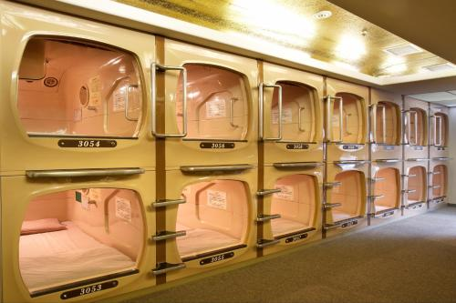 Capsule Room for Men with Spa Access