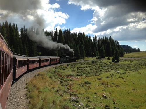 Steam Train Hotel Photo