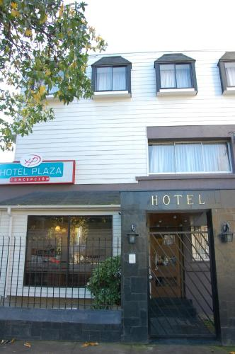 Hotel Plaza Concepción Photo