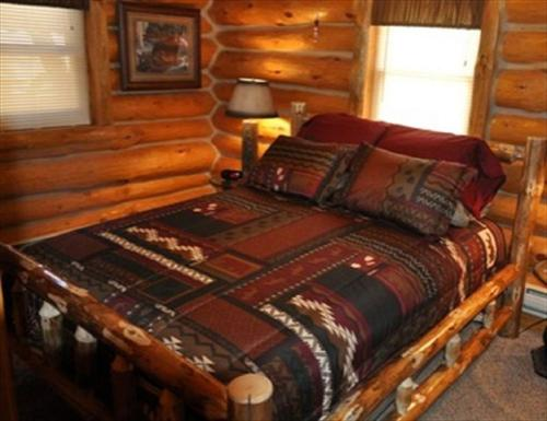 River Trail Log Cabin Photo