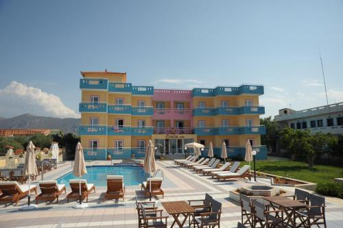 Evalia Apartments - Anissaras, Parodos Smyrnis Greece