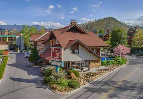 river edge motor lodge gatlinburg tn united states
