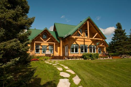 Grand Chalet Fleuve et Montagnes Photo