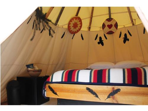 Black Feather Tipi Experience Photo