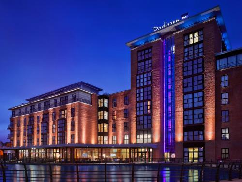 Radisson Blu Hotel Belfast, green hotel in Belfast, United Kingdom
