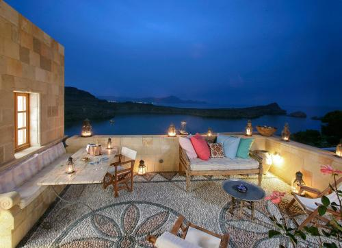 Melenos Lindos Exclusive Suites - Main Street Greece
