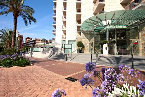 Sandos Monaco Beach Hotel & Spa - Adults Only - All Inclusive 4* Sup, green hotel in Benidorm, Spain