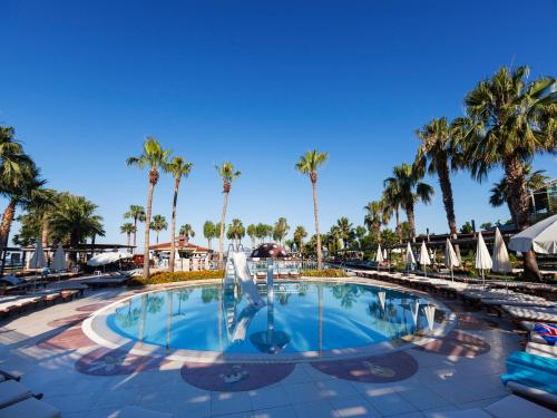 Yaniklar Club Tuana - All Inclusive harita