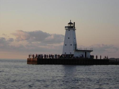 Ludington Pier House Photo