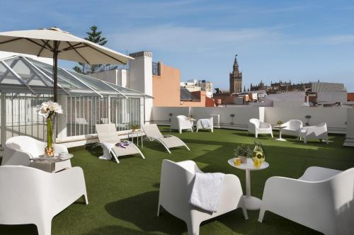 Suites Sevilla Plaza - seville - booking - hébergement