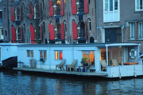 Hotel-overnachting met je hond in Pantheos Top Houseboat - Amsterdam - Amsterdam Centrum