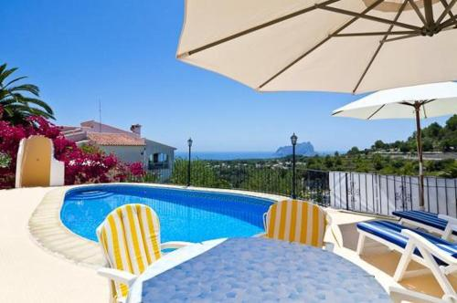 Apartment with views, pool in Benissa - фото 0