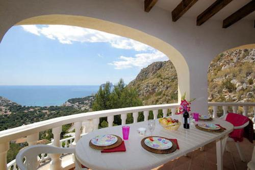 Apartment with terrace, garden in Moraira - фото 0